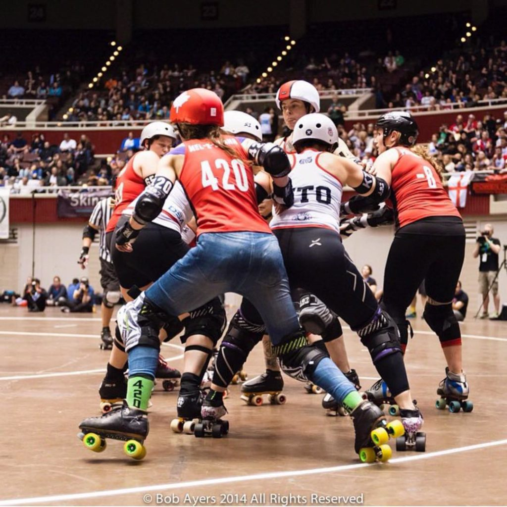 Remembering a really great weekend Roller Derby World Cup 2014hellip