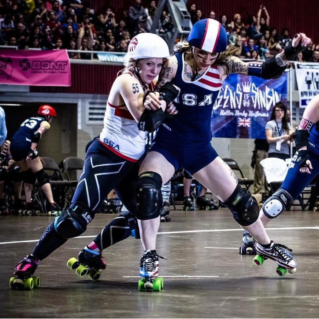 Roller Derby World Cup 2014 Dallas Texas Photo by Seanhellip